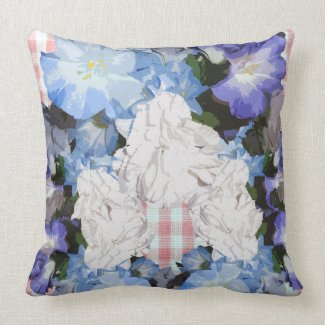 Shabby Chic Country Living Decor Floral Pillows