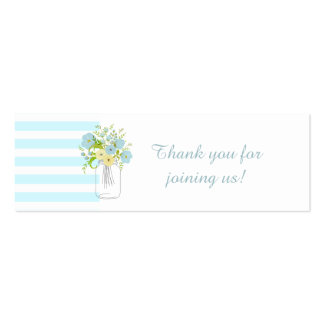 Shabby CHIC Favor Tags Mini Business Card