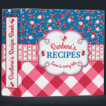 """Shabby Chic Floral and Plaid Recipe Book Binder<br><div class=""""desc"""">Shabby Chic Floral and Plaid Recipe Book Binder</div>"""