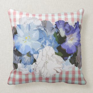Shabby Chic Floral Designer Decor Pillows