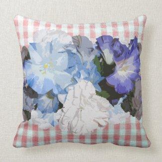 Shabby Chic Floral Designer Decor Pillows