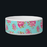 "Shabby Chic Floral Roses Bowl<br><div class=""desc"">CUSTOMIZATION 