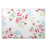 shabby chic flower placemat