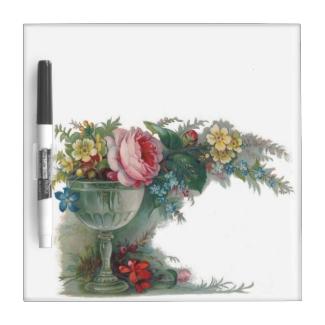 Shabby Chic Flowers Vase