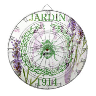 shabby chic french country lavender vintage bee dartboard