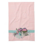 Shabby Chic Garden Floral Kitchen Towel