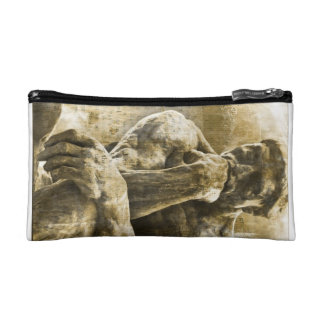 Shabby Chic Gothic Trendy Statue Makeup Bag