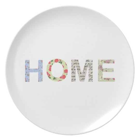 Shabby Chic Home Plate