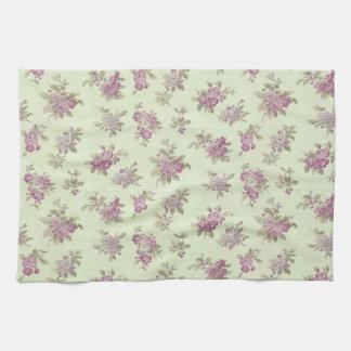 Shabby Chic Lavender Elegant Flower Floral Towel