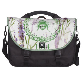 shabby chic lavender vintage bee french country bag for laptop