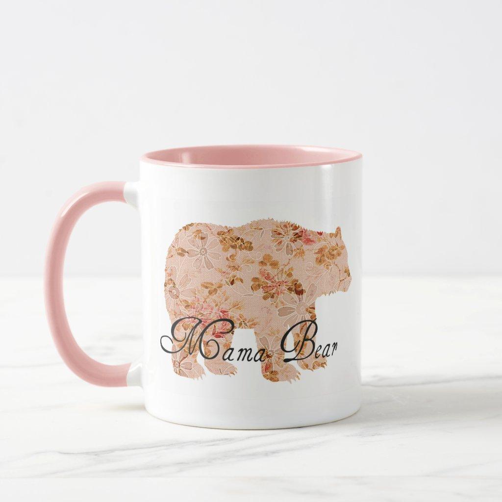 Shabby Chic Mama Bear Mug