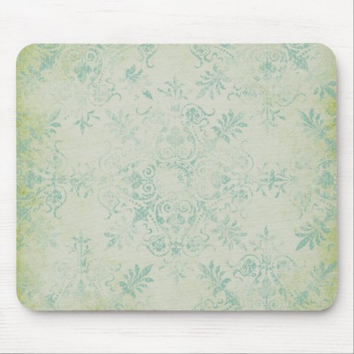 Shabby Chic pattern Mouse Pad
