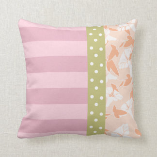 Shabby Chic Pattern Throw Pillow Throw Pillows
