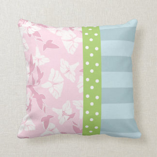 Shabby Chic Pattern Throw Pillow Throw Pillow