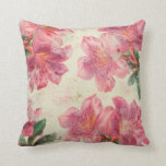 Shabby Chic Pink Lily Pillow