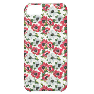 shabby chic  poppies cornflowers iphone case cover iPhone 5C case