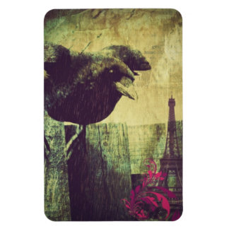Shabby Chic Raven In Paris Magnet