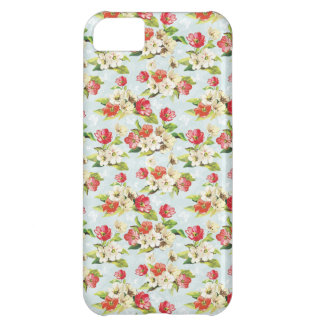 shabby chic retro vintage flowers iphone 5 case