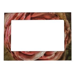Shabby Chic Romantic Rose Magnetic Frame