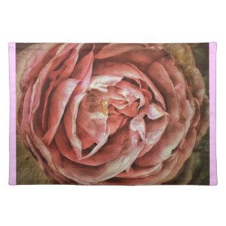 Shabby Chic Romantic Rose Place Mats