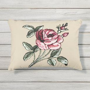 Romantic Shabby Chic Outdoor Pillows Cushions Zazzle