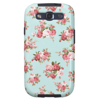 Shabby chic rose samsung galaxy SIII covers