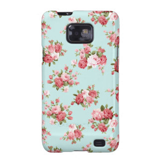 Shabby chic rose samsung galaxy s2 covers