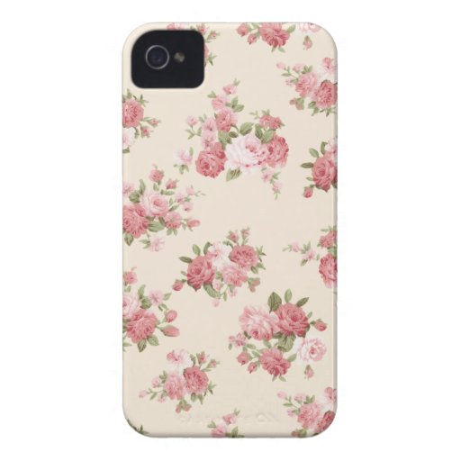 Shabby chic rose case mate iphone 4 case zazzle for Case arredate shabby chic