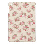Shabby chic rose cover for the iPad mini