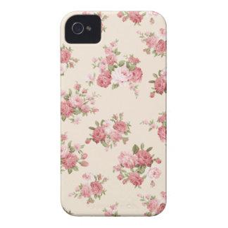 Shabby chic rose iPhone 4 case