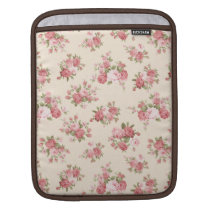 Shabby chic rose sleeve for iPads