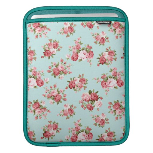 Shabby chic rose sleeves for iPads