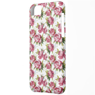 shabby chic  rosebuds iphone 5 barely there case cover for iPhone 5C