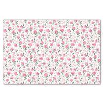 Shabby Chic Roses Feminine Pretty Tissue Paper