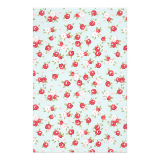 Shabby Chic Roses Floral Vintage Stationery