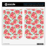 Shabby Chic Roses hard drive skin Floral Vintage FreeAgent GoFlex Decal