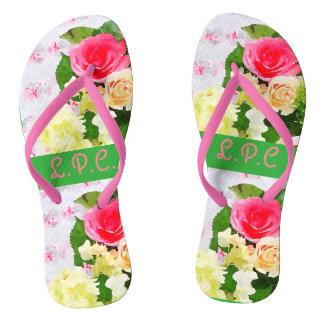 Shabby chic sandals
