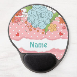 Shabby Chic Scrapbook Personalized Mousepad
