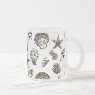 Shabby Chic Seashell Beach Wedding favor Coffee Mugs