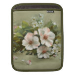 Shabby Chic style Roses Sleeves For iPads