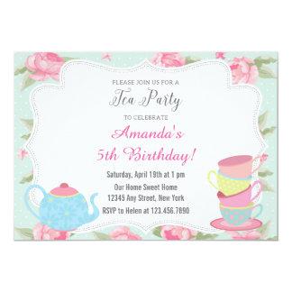 garden tea party invitations  announcements  zazzle, Party invitations