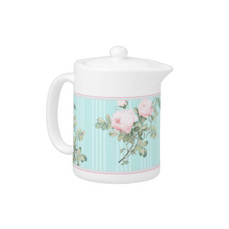 Shabby chic tea pot decorative home kitchen gift