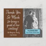 "[ Thumbnail: Shabby Chic ""Thank You So Much"" Postcard ]"
