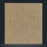 """Shabby Chic Tweed Rustic Burlap Fabric Texture Binder<br><div class=""""desc"""">Check out www.zazzle.com/Sweetbriar_Drive for so many other beautiful styles,  items &amp; colors! &#169; SweetbriarDrive 2014. Do not copy.</div>"""