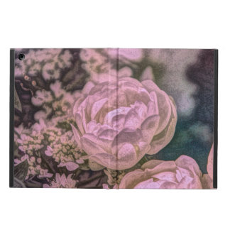 Shabby chic Victorian garden Bohemian pink Rose Cover For iPad Air