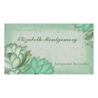 Shabby Chic Vintage Flowers Business Cards