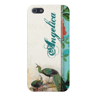 Shabby chic vintage french cover for iPhone 5