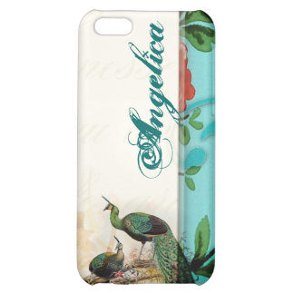 Shabby chic vintage french iPhone 5C cover