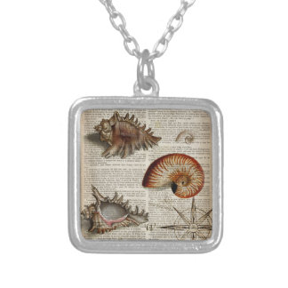 shabby chic vintage sea shells beach nautical jewelry