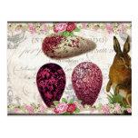 Shabby Easter Bunny Postcard